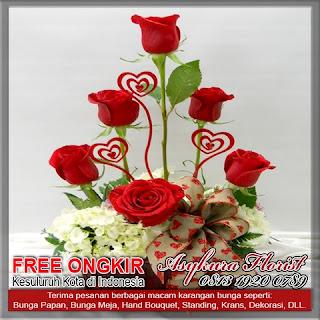 Toko jual bunga vas Rawalumbu kota bekasi