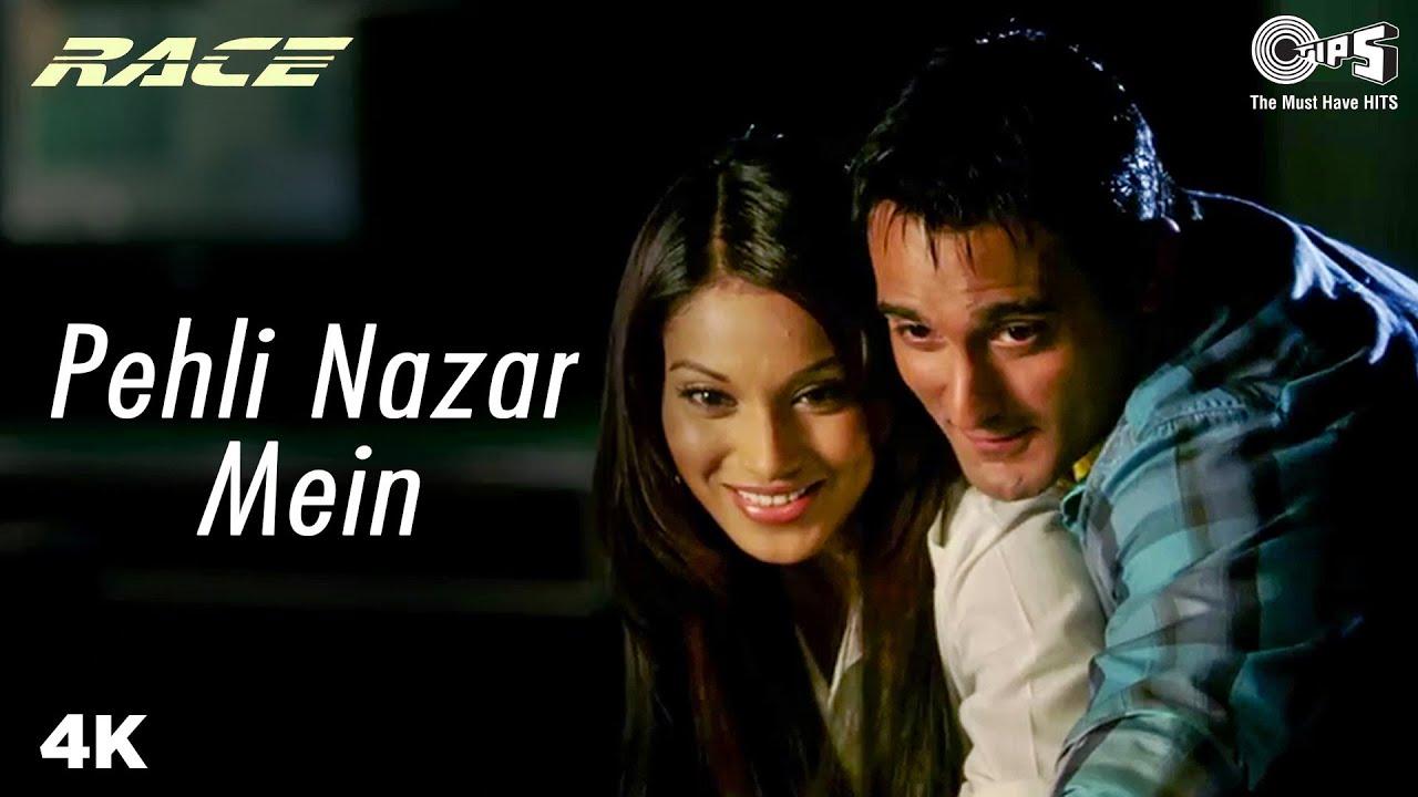 Pehli Nazar Mein Lyrics Race | Akshaye Khanna X Bipasha Basu | Atif Aslam