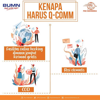 Layanan Pengiriman QComm PT. Pos Indonesia