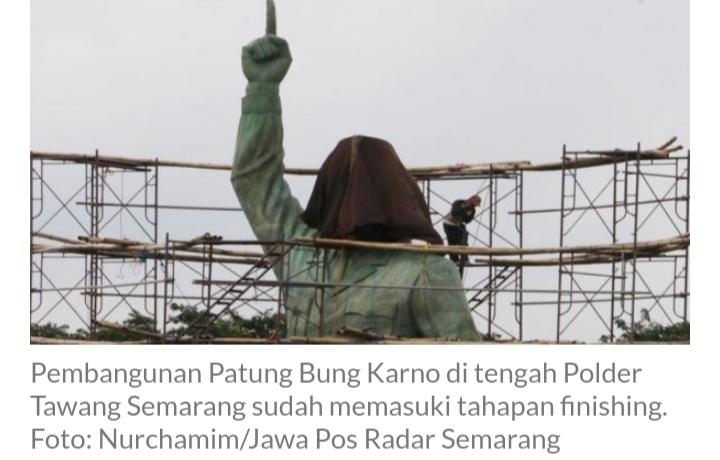 Patung Bung Karno Tertinggi di Dunia Bakal Berdiri di Sini, Rp 11 M, Menghadap ke Selatan