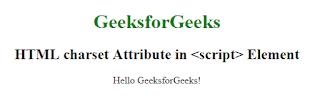penggunaan atribut charset pada html