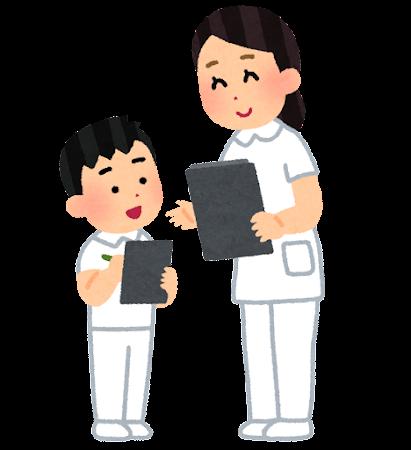 職業体験のイラスト(看護師・男の子)