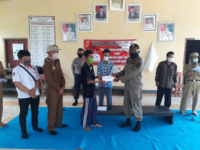 Penyaluran BLT-DD Pekon Marga Jaya Digelar