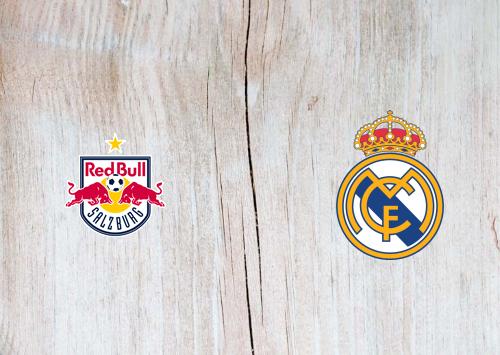 Salzburg vs Real Madrid Full Match & Highlights 7 August 2019