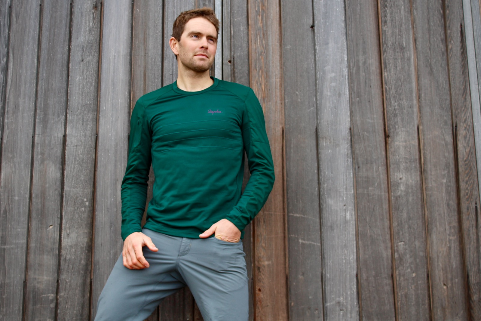 Tim Wiggins Rapha Explore Pullover
