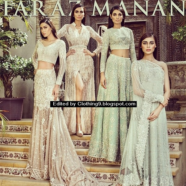 Faraz Manan latest bridal dresses 2015