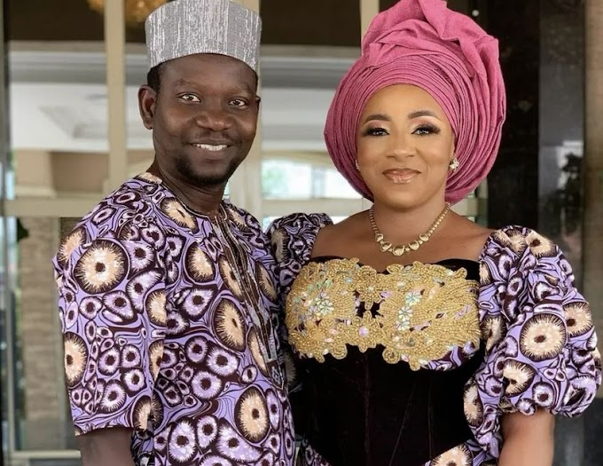 """I Love You To The Moon And Back"" - Afeez Owo Pens Loving Note To Wife, Mide Martins On Her Birthday"