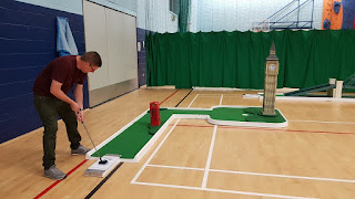 Landmark Golf at Wolsingham Sports Hall