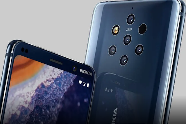 Nokia has a big event in India, on June 6, the world's first 5-rear camera phone Nokia 9 PureView.