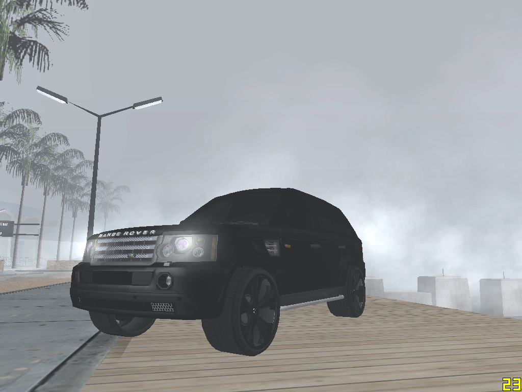 Gta San Andreas Nokia Lumia 520: Sam's Huntley Range Rover - Gta San Andreas