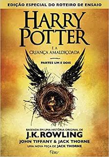 Livro Harry Potter e a criança amaldiçoada - Parte um e dois