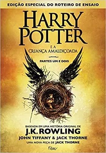 Livro Harry Potter e a criança amaldiçoada - Parte um e dois - Capa dura