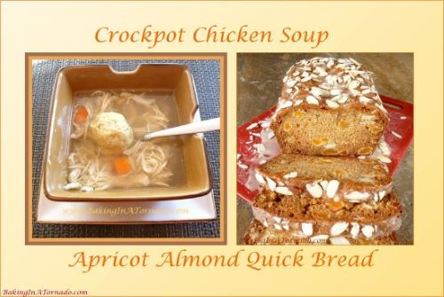Soup's On: 13 Soup and Quick Bread Pairings | Recipes developed by www.BakingInATornado.com | #recipe #dinner