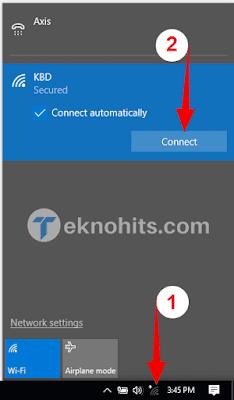 Menghubungkan ke jaringan WiFi