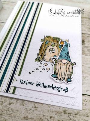 Stempelset Wichtelweihnacht; Blends; besonderes Designerpapier im schönsten Glanz