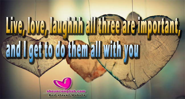 Best love shayari in english