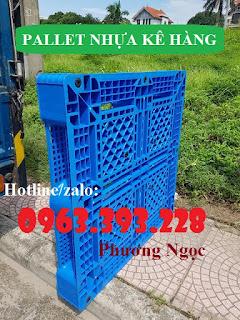 Pallet nhựa lót sàn, pallet nhựa nâng hàng, pallet kê kho 740dde2398db7f8526ca