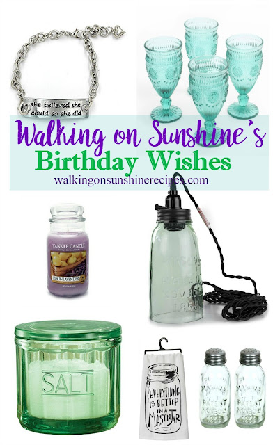 How to Give the Best Birthday Wishes and Gifts this Year from Walking on Sunshine Recipes.