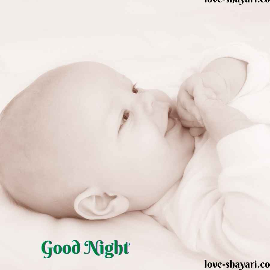 baby good night photos