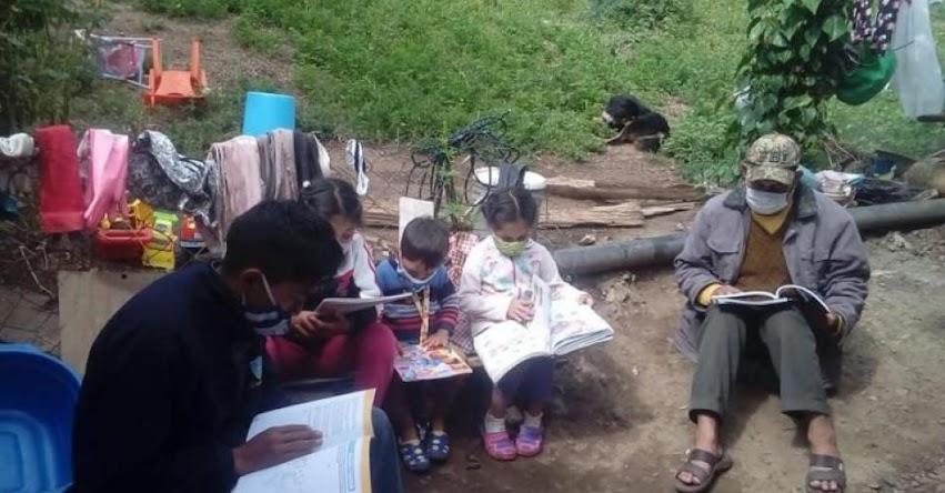 FONDEP: Registro de iniciativas pedagógicas: docentes de Apurímac fomentan el hábito de la lectura en familia - www.fondep.gob.pe