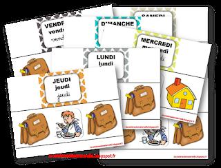 Etiquettes école / maison (LaCatalane)