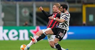 ملخص وهدف فوز مانشستر يونايتد علي ميلان (1-0) الدوري الاوروبي