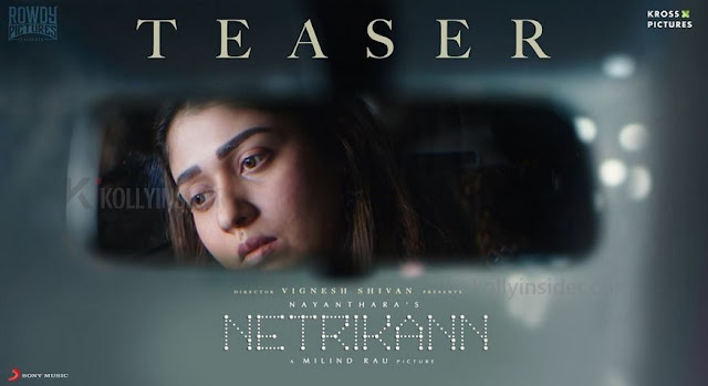 Nayanthara's 'Netrikann' teaser is out [Video]