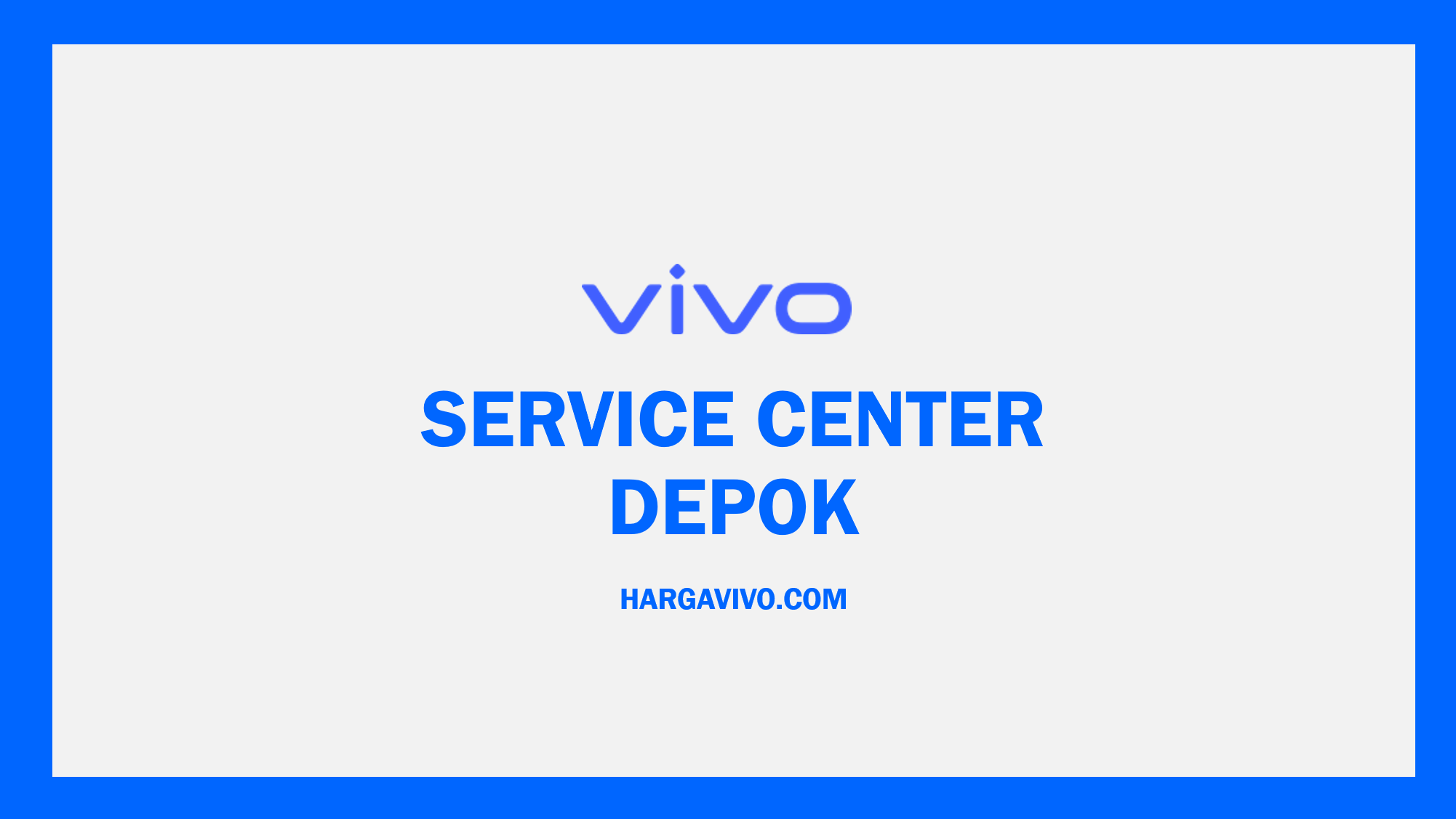 Service Center Vivo Depok