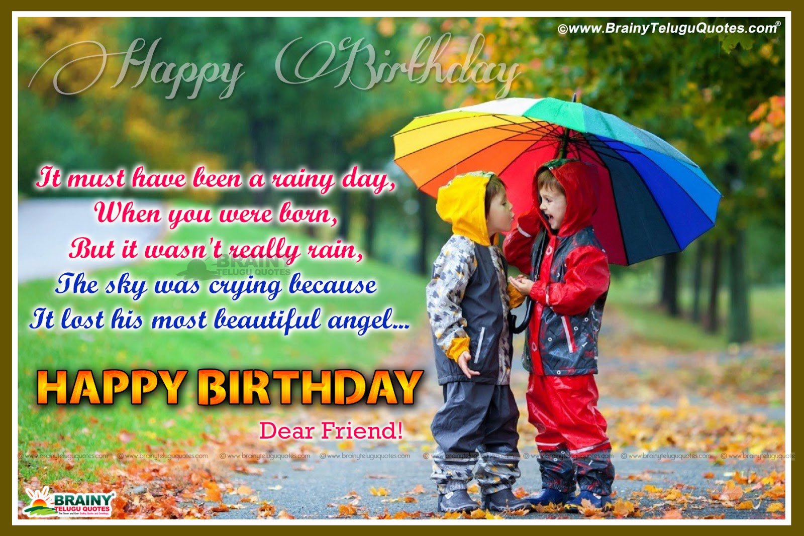 Best Birthday Quotes For Friend In English: Happy Birthday My Dear Friend Quotes Wishes Greetings