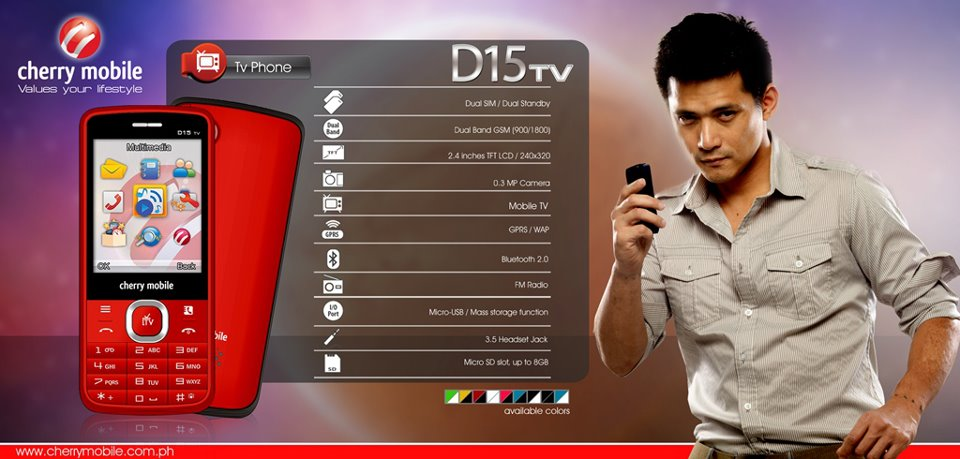 Cherry Mobile D15TV