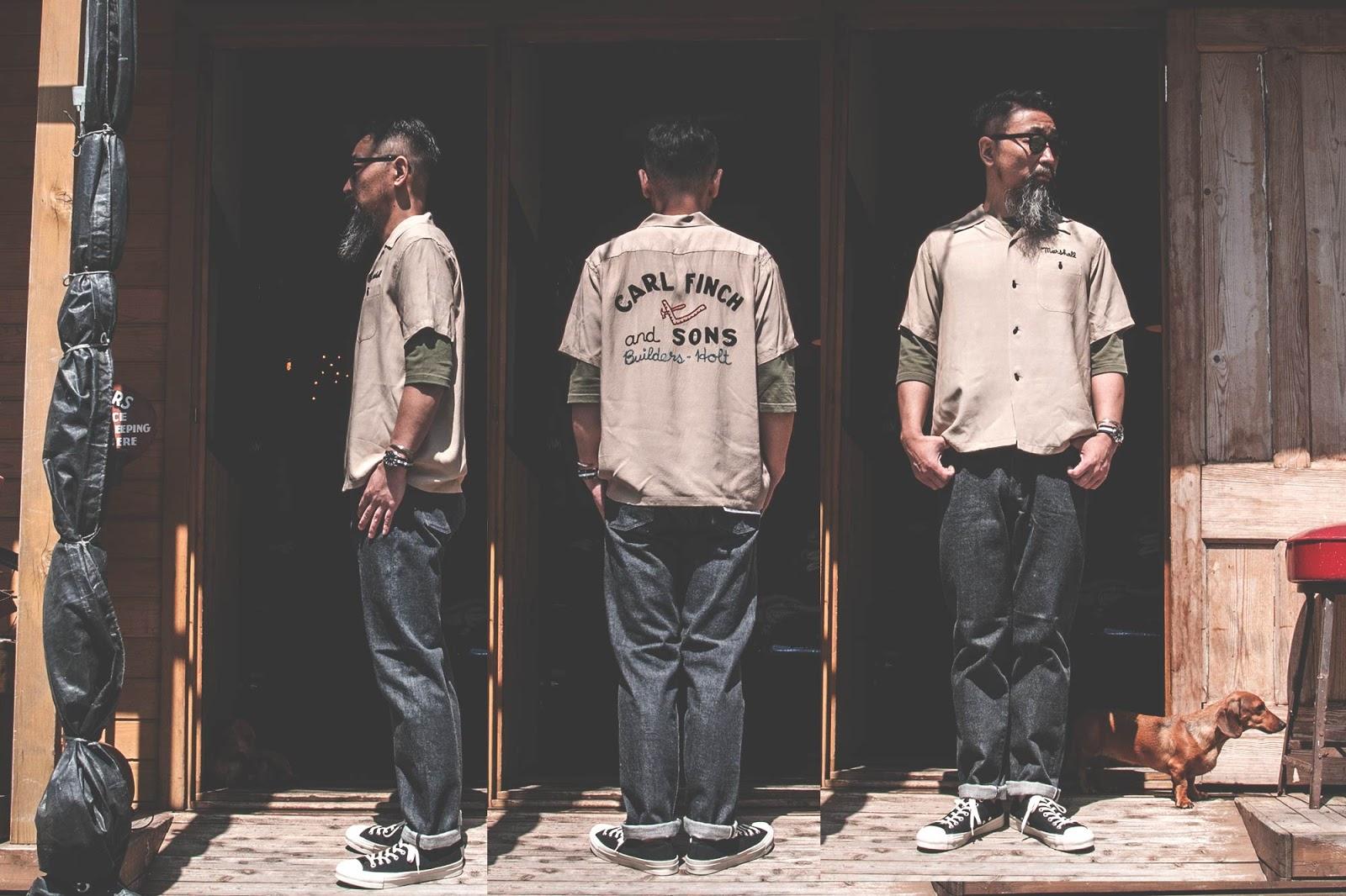 スタイルアイズ ボーリングシャツ アロハシャツ オープンカラーシャツ フィフティーズシャツ