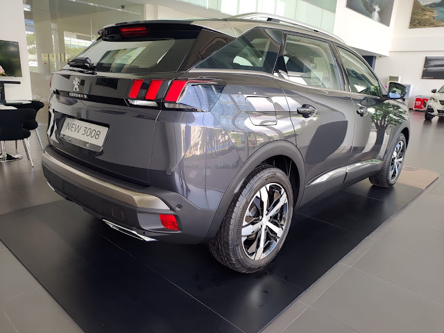 Warna Baru Peugeot 3008 SUV Allure Plus: Aster Grey