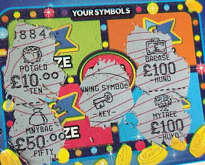 Cash Match Scratchcard