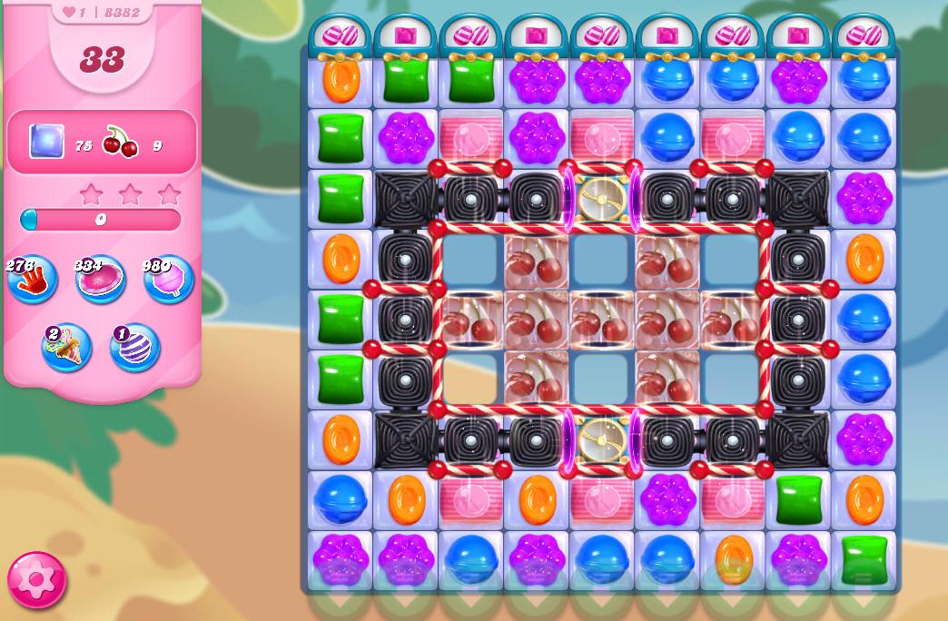 Candy Crush Saga level 8382