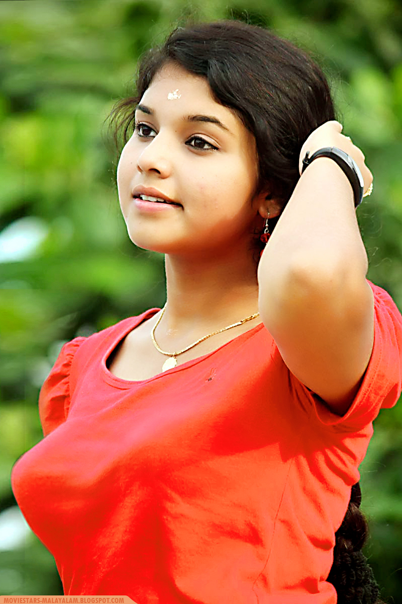 Anukrishna Kerala Beautiful Teenage Actress In Blouse -7369