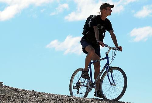 Mountain Bike in Peninsula Valdes