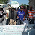 Chóferes de Haina cumplen tres días encadenados  en reclamo de r-eivindicaciones