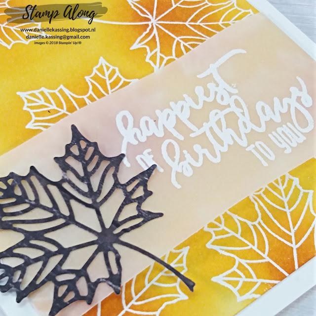 Stampin' Up! Colorful Seasons