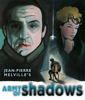 Film poster for Melville's Army of Shadows,