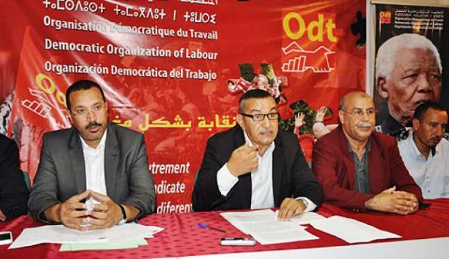 المنظمة الديمقراطية للجماعات المحلية تنظم إضرابا وطنيا يومي الأربعاء والخميس 26 و27 دجنبر الجاري