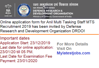 DRDO-MTS-mylatestjobs