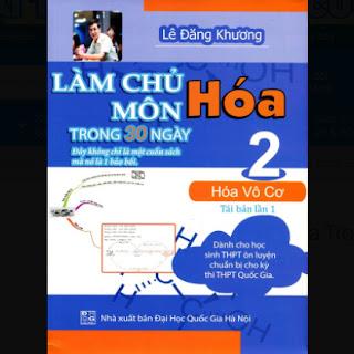 Làm Chủ Môn Hóa Trong 30 Ngày (Tập 2) ebook PDF EPUB AWZ3 PRC MOBI