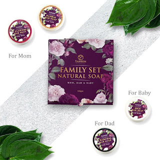 family set natural soap, family set natural soap tasneem naturel, tasneem naturel, sabun mandi semulajadi, sabun rambai, sabun 7 bunga, sabun arang, sabun susu, sabun mandi hilangkan daki, sabun mandi wanita, sabun mandi lelaki, tasneem naturel kluang