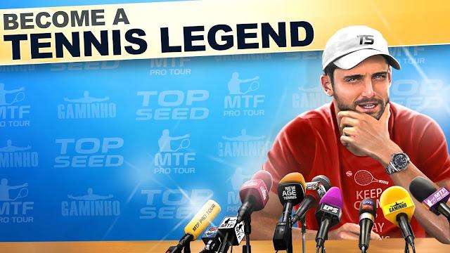 لعبة TOP SEED Tennis Manager مهكرة