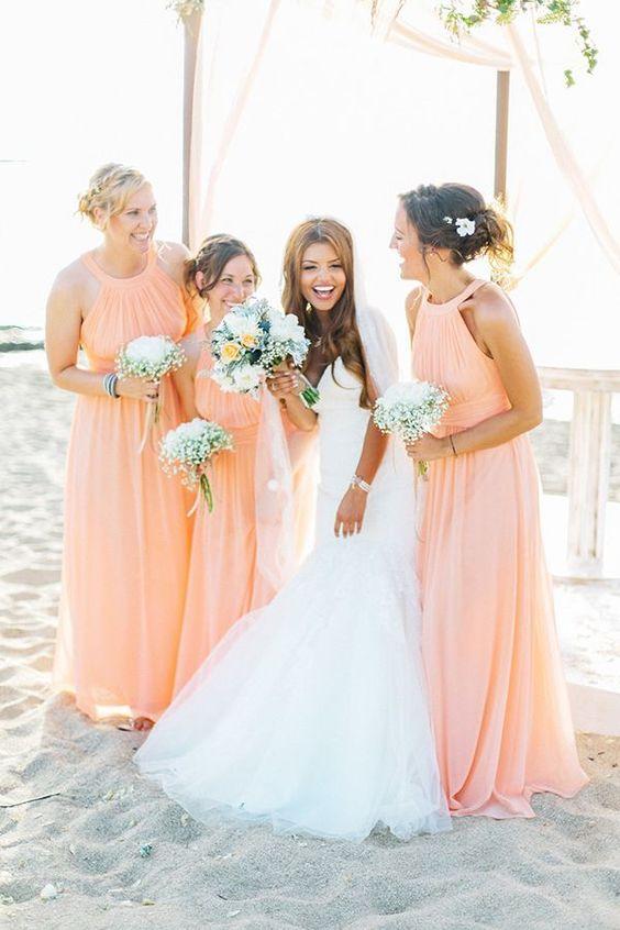 Dreamy Beach Themed Bridesmaids Dress For Summer Life Decor Fashion