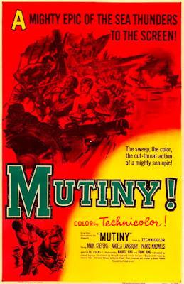 Póster película Motín - Mutiny (1952)