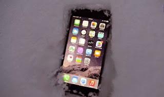 يمكن لـ iPhone 6 قضاء ليلة كاملة في الثلج دون أن يصاب بأي ضرر