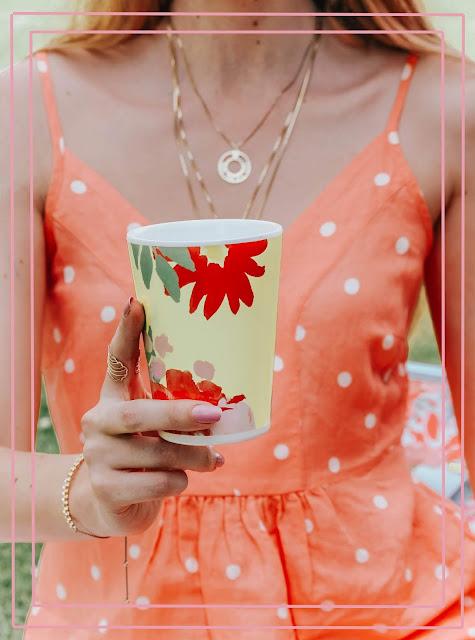 Joules Garden Melamine Beaker Set of 4