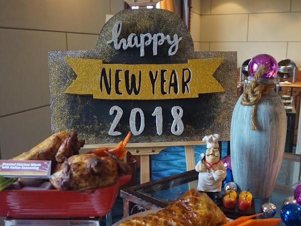 Buffet Ekslusif Tahun Baru 2018 Di Grand Bluewave Shah Alam.
