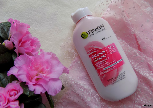 Mleczko do demakijażu skóry suchej i wrażliwej, Garnier Skin Naturals